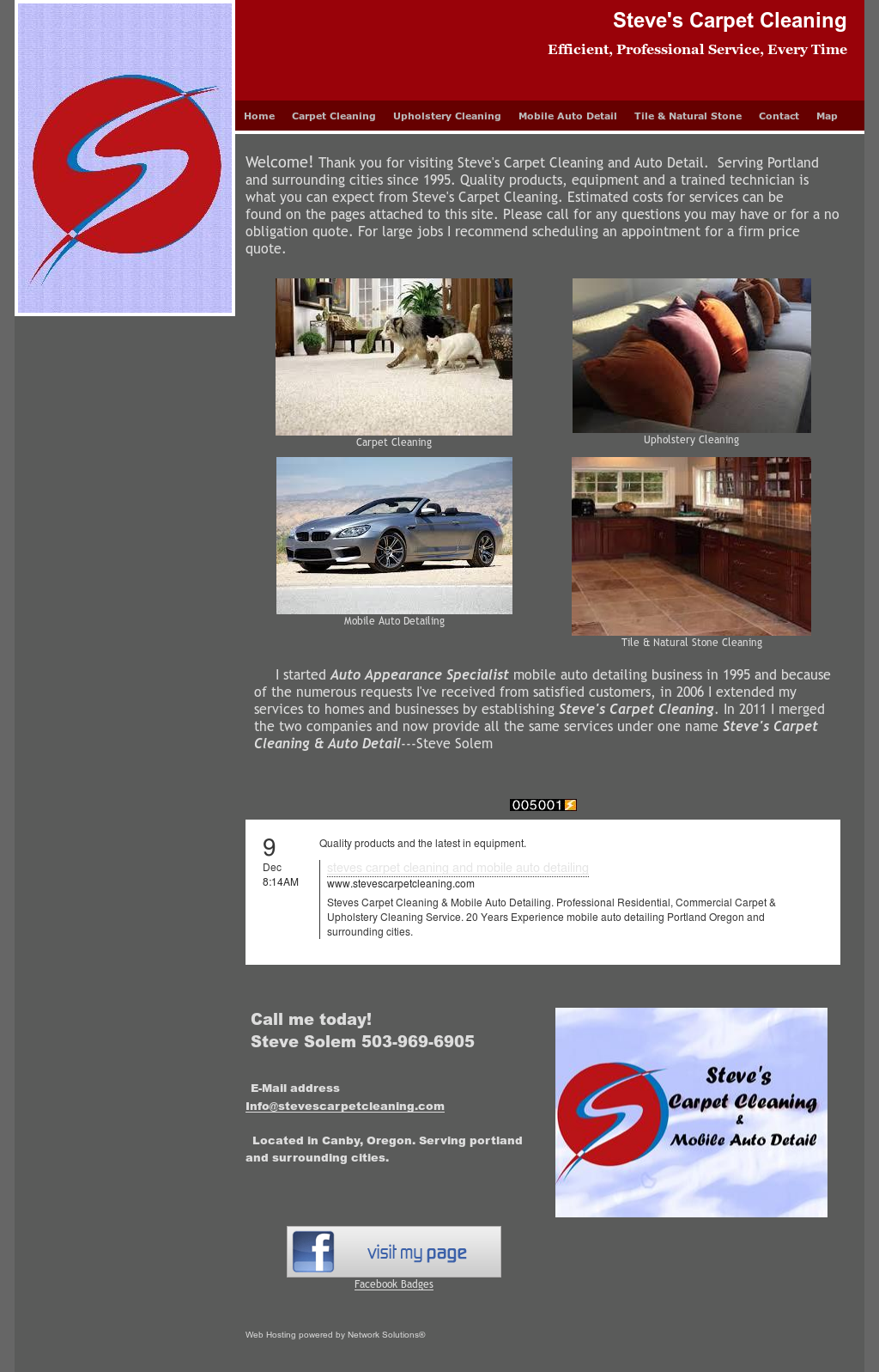 R Steveu0027s Carpet Cleaning And Auto Detailing Competitors Revenue  Employees  Owler Company Profile
