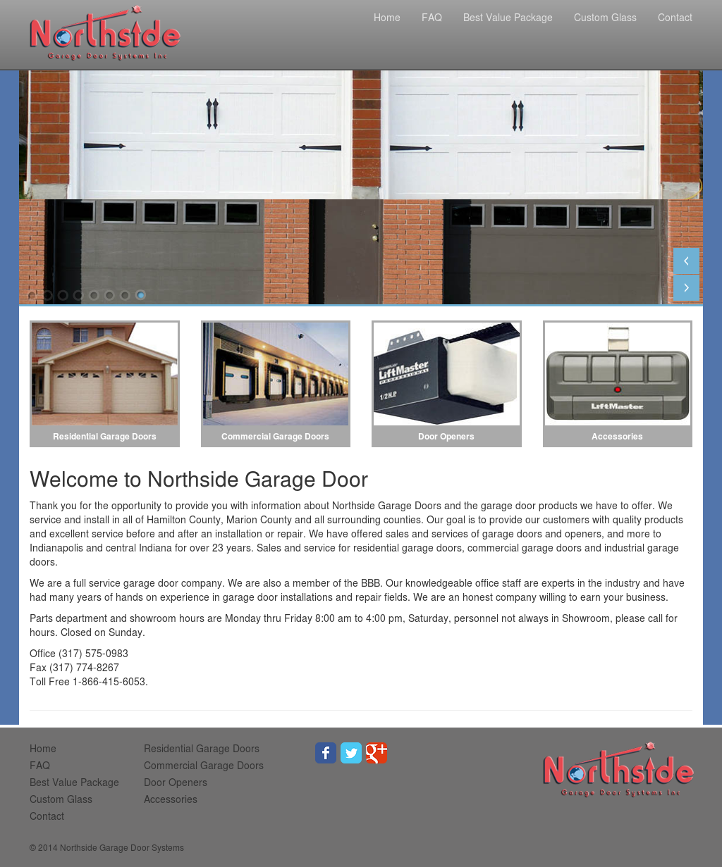Northside Garage Door Systems Competitors Revenue And Employees