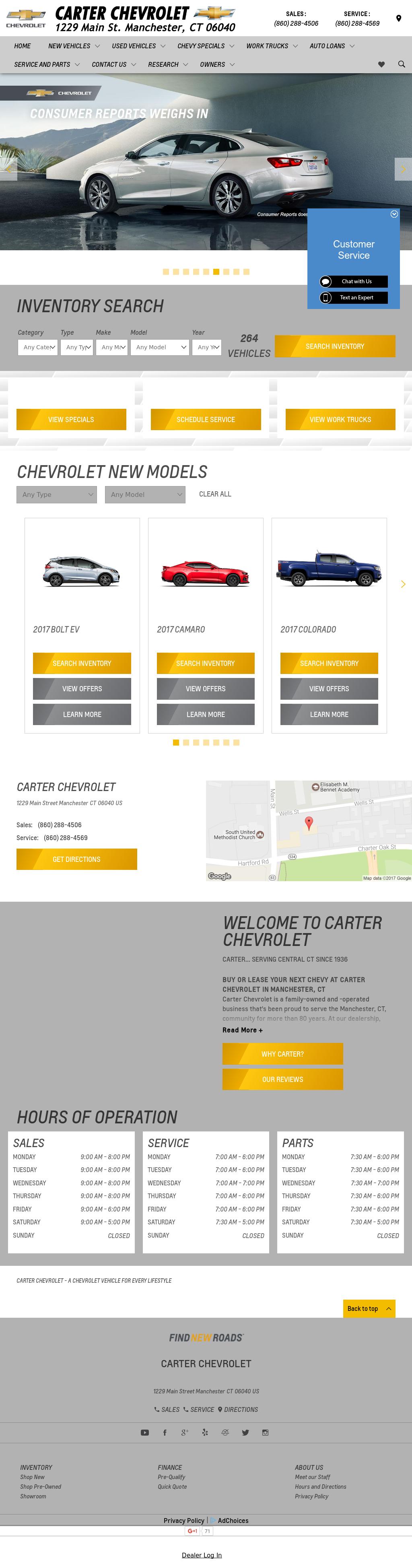 Exceptional Carter Chevrolet U0026 Mazda Of Manchester Website History