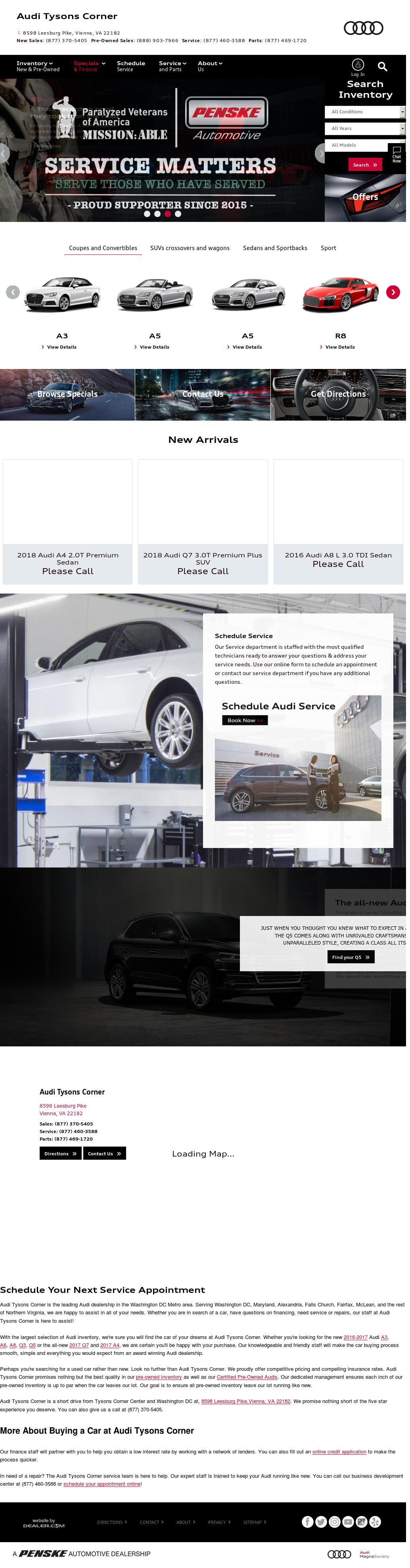 Audi Tysons Service Hours The Audi Car - Audi tysons