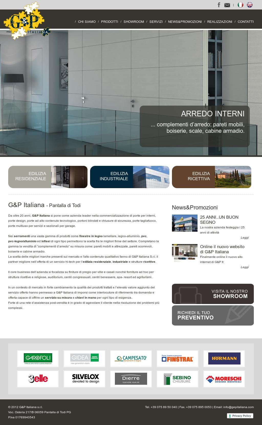 Armadio Da Garage g&p italiana s.r.l competitors, revenue and employees