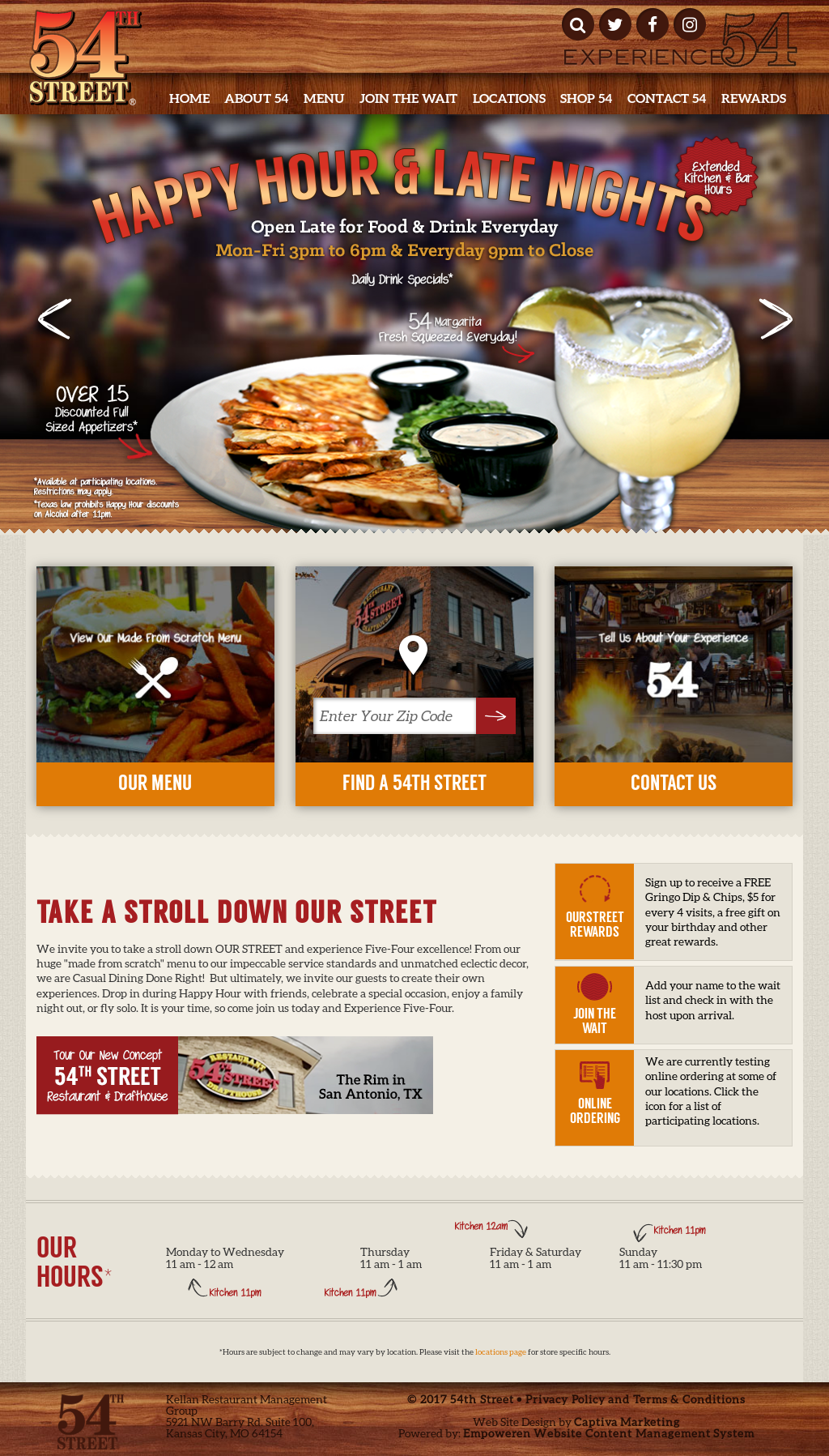 54th street grill and bar competitors, revenue and employees - owler