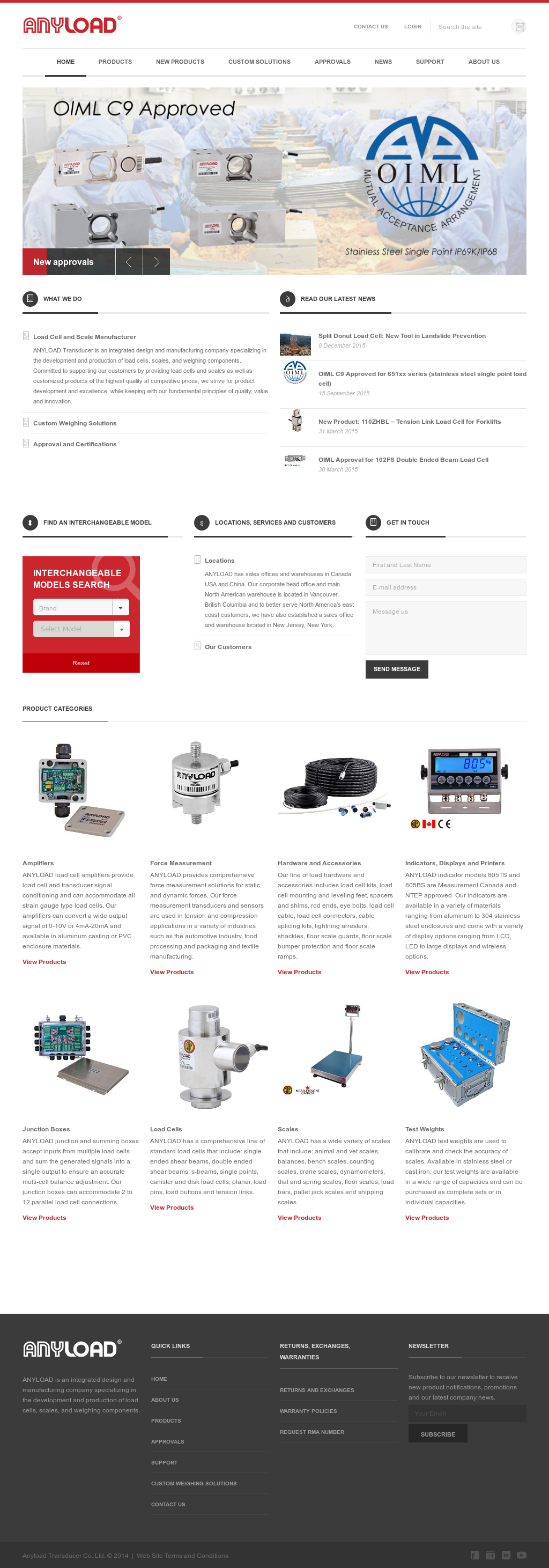 Anyload Transducer Competitors Revenue And Employees Owler Amplifier Load Summing Company Profile