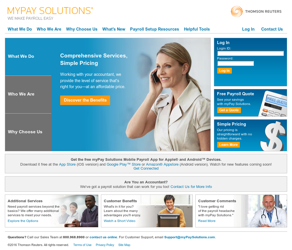 myPay Solutions Competitors, Revenue and Employees - Owler