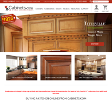 Cabinets.com By Kitchen Resource Direct Website History