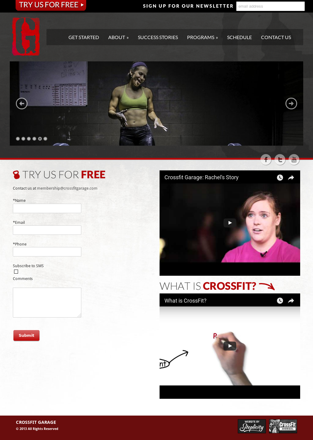 The garage a crossfit gym competitors revenue and employees