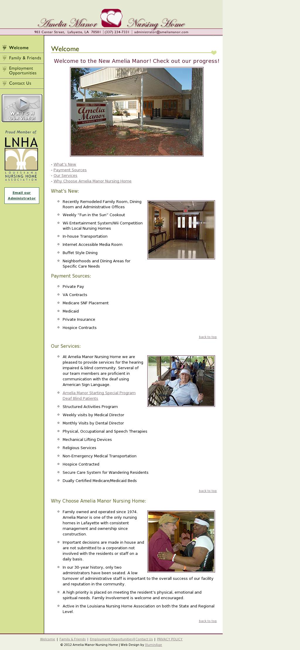 Amelia Manor Nursing Home Competitors Revenue And Employees Owler