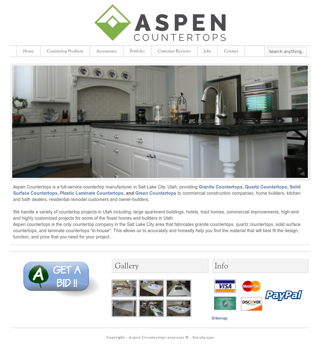 Aspen Countertops Compeors Revenue And Employees Owler Company Profile