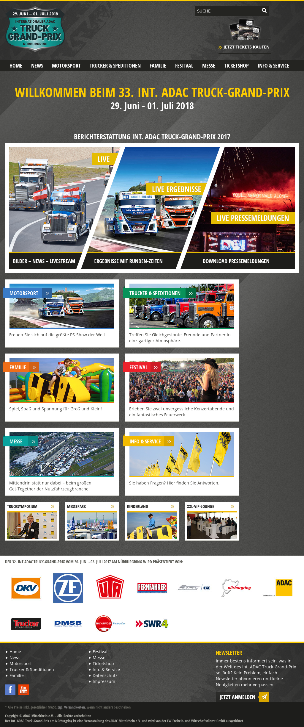 Int Adac Truck Grand Prix Competitors Revenue And Employees