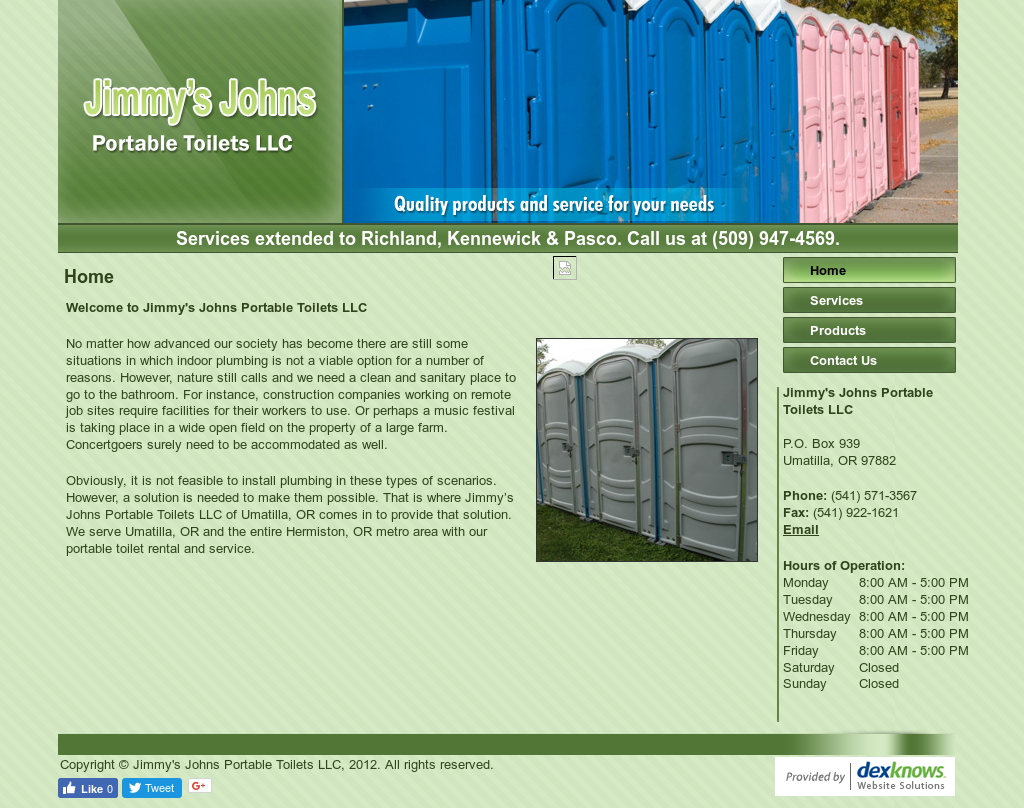 Jimmy\'s Johns Portable Toilets Competitors, Revenue and Employees ...