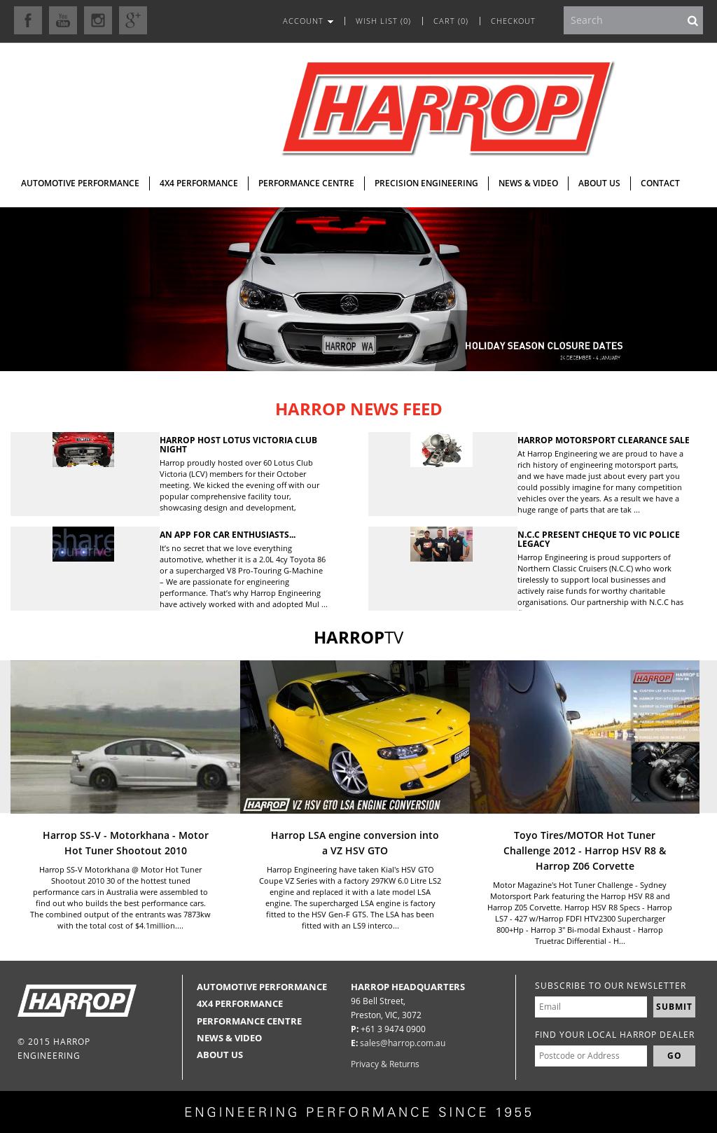 Harrop Exhaust Review