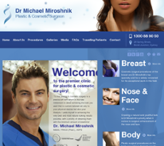 Dr Michael Miroshnik - Plastic & Cosmetic Surgeon Competitors