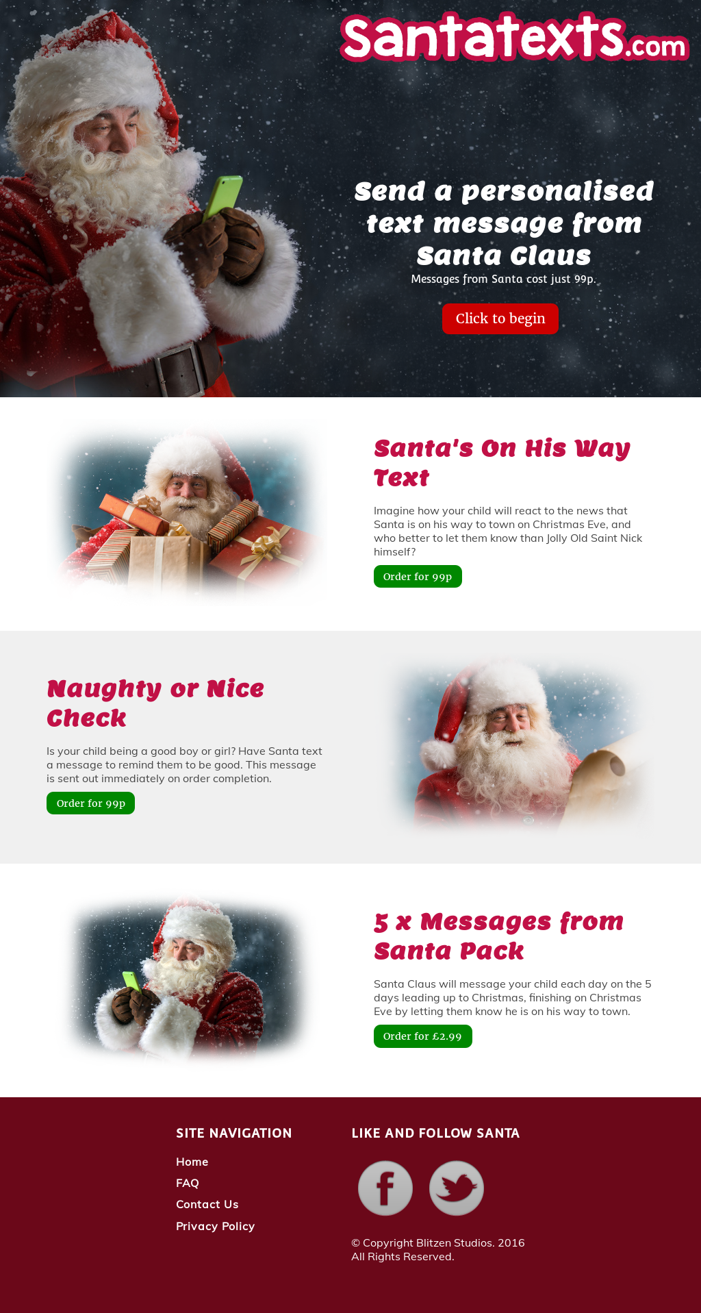 santatextscom text messages from santa claus competitors revenue and employees owler company profile
