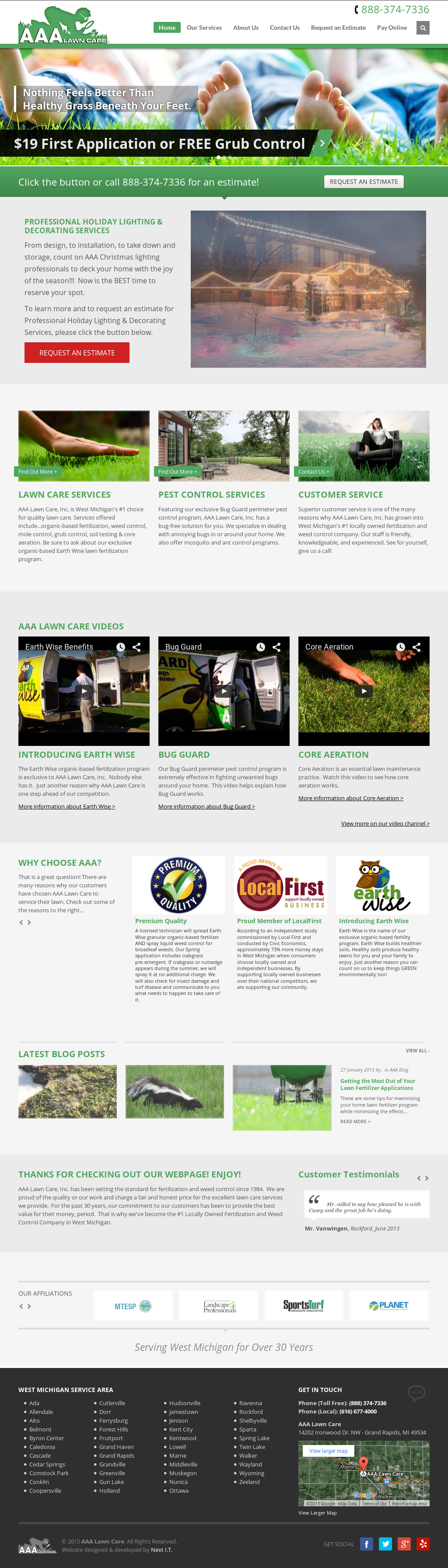A A A Lawn Care Competitors, Revenue and Employees - Owler