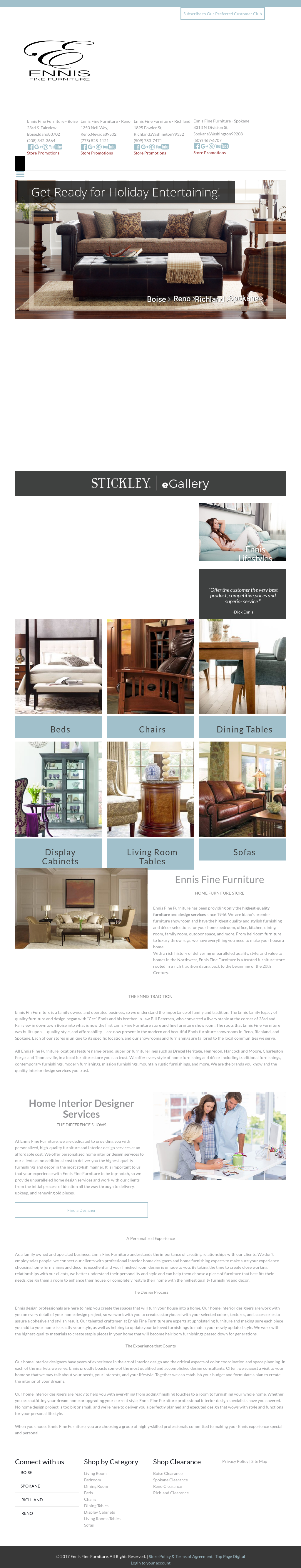 Ennis Fine Furniture Compeors Revenue And Employees Owler Company Profile