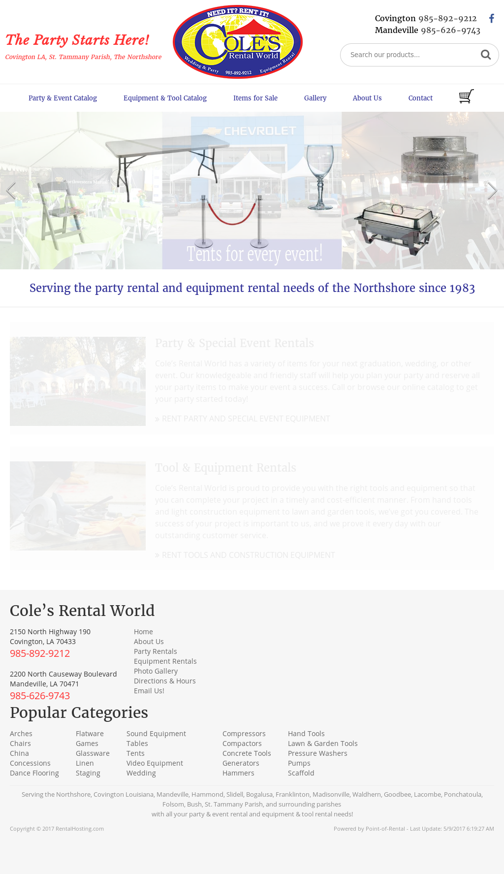 Coles Party Rental Competitors Revenue And Employees Owler