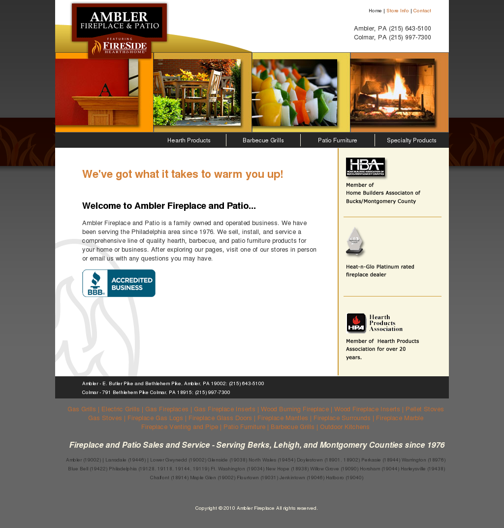 Ambler Fireplace And Patio Competitors Revenue And Employees