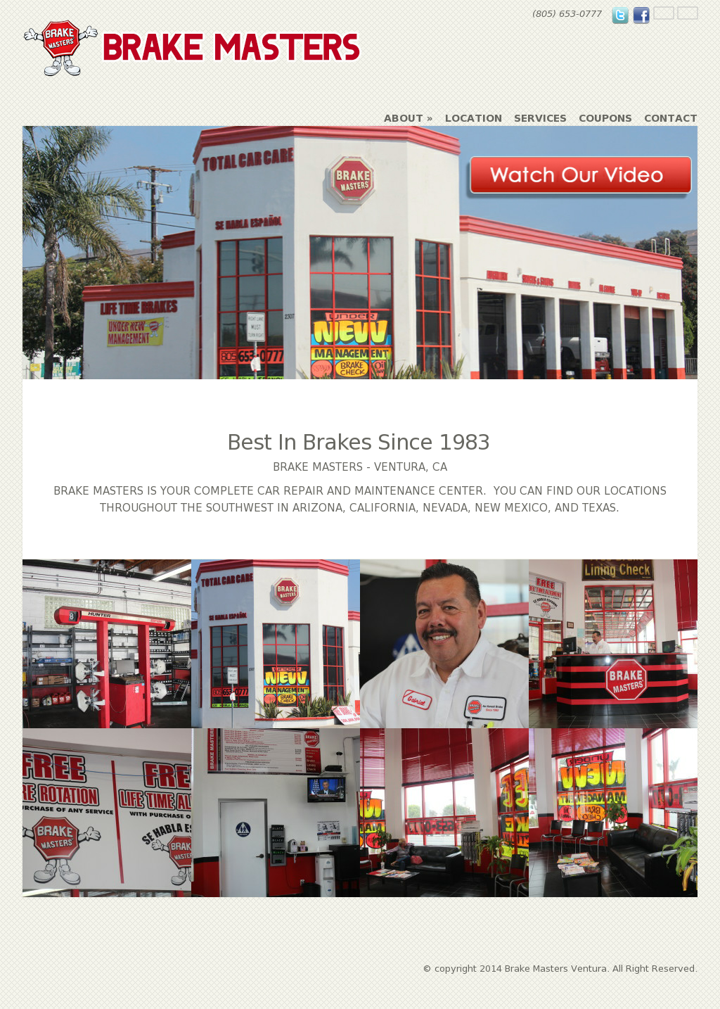 Brake Masters Coupons >> Brake Masters Ventura Competitors Revenue And Employees