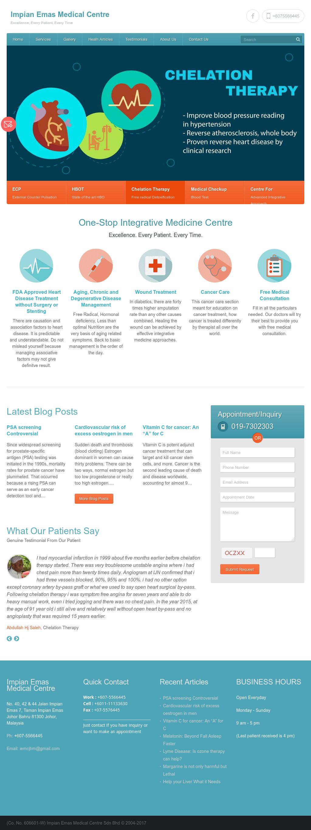 Owler Reports - Impian Emas Medical Centre Blog Anti