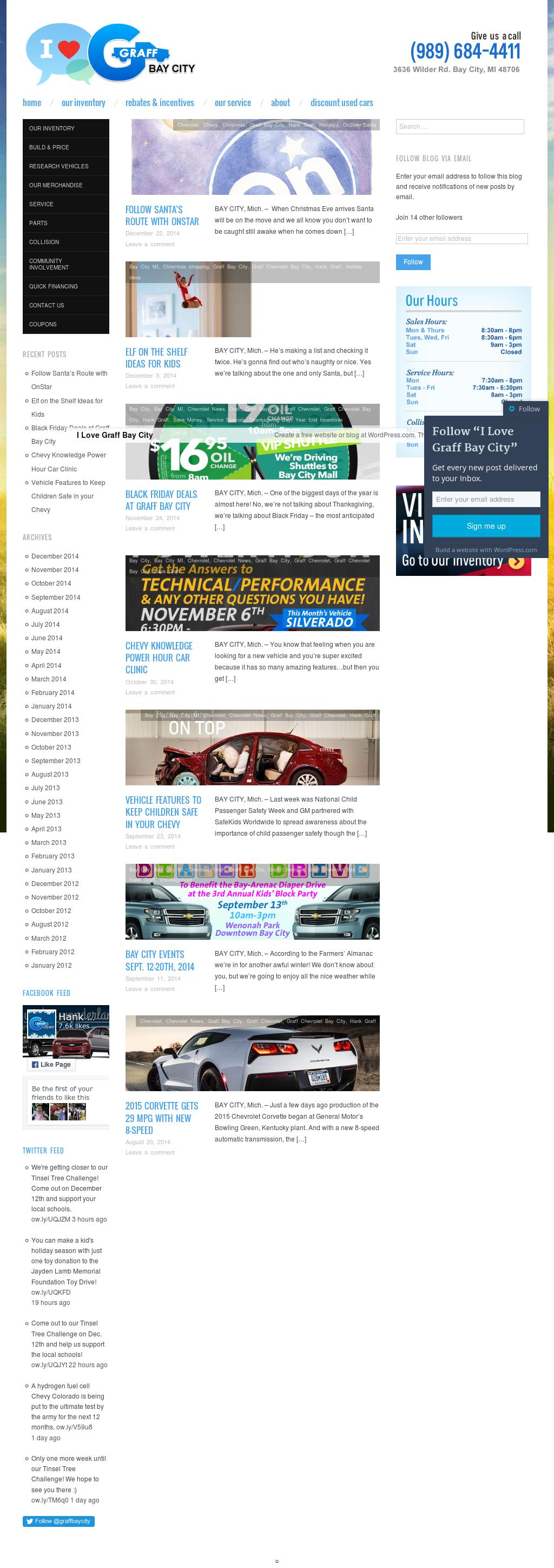 Graff Chevrolet Bay City >> Hank Graff Chevrolet Bay City Michigan Competitors