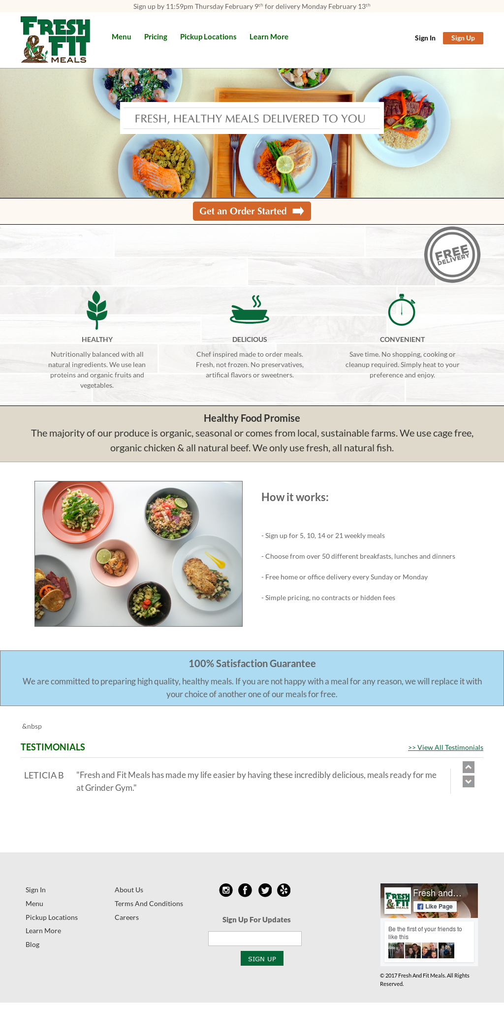 Fresh & Fit Meals Competitors, Revenue and Employees - Owler