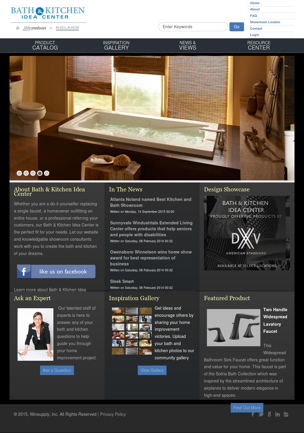 Bath Kitchen Idea Center By Noland Winnelson Competitors