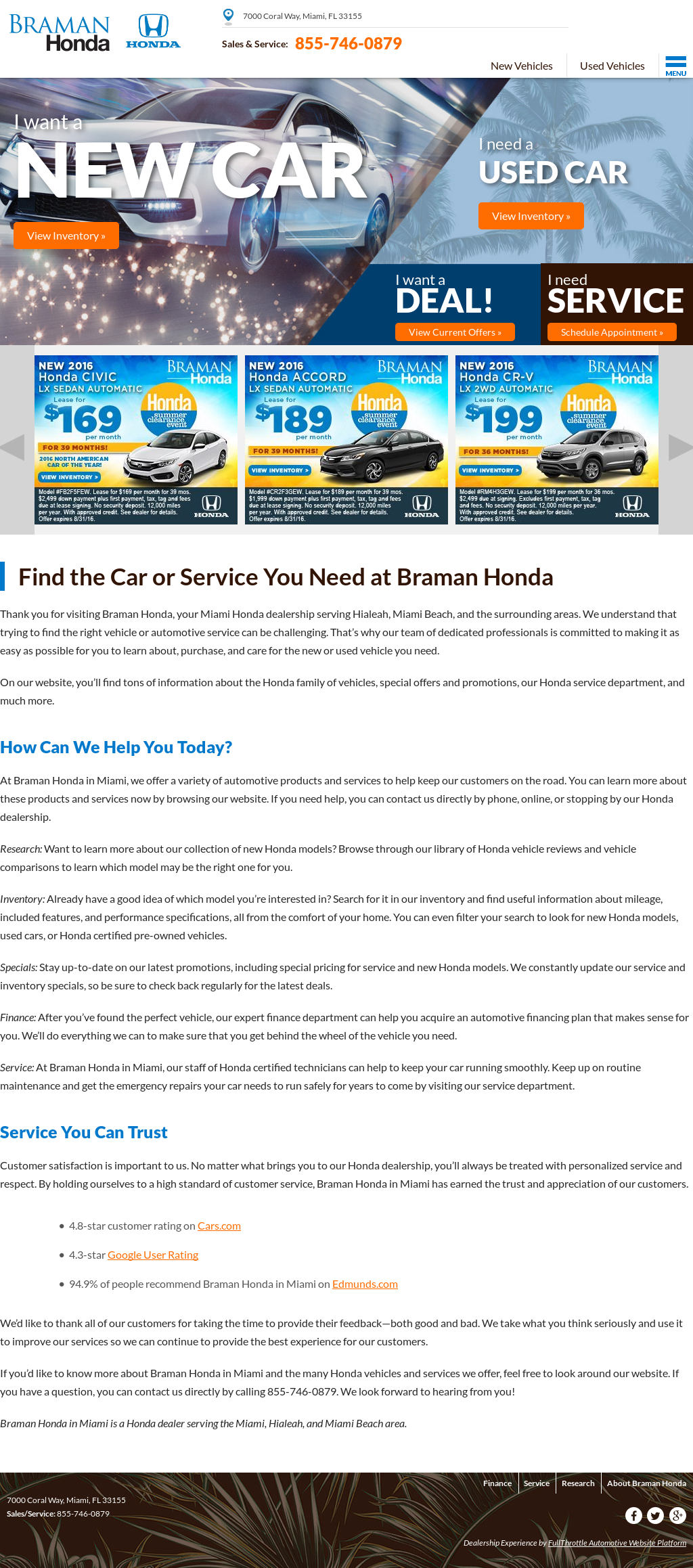 Braman Honda Competitors, Revenue And Employees   Owler Company Profile