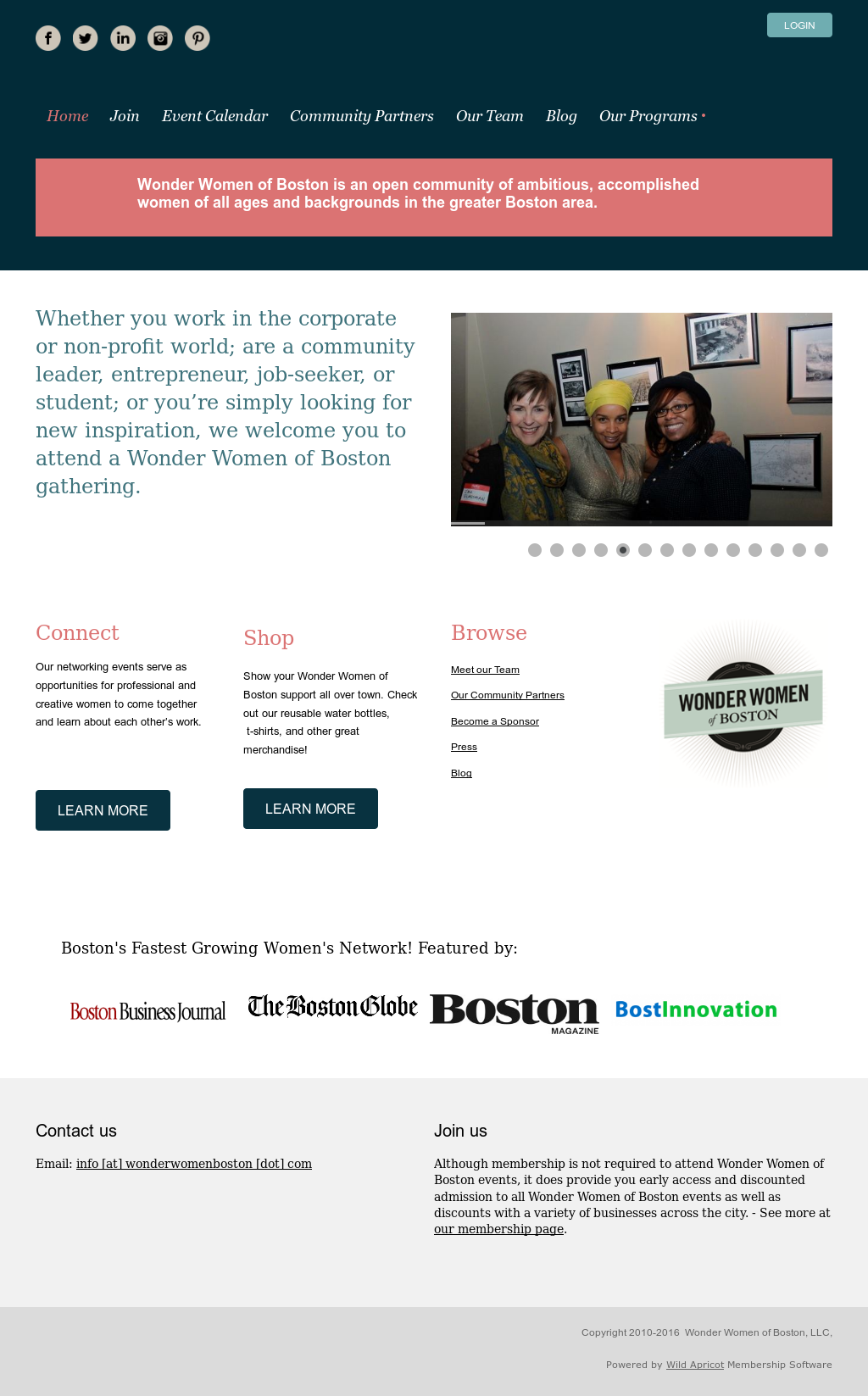 Wonder Women Of Boston Competitors, Revenue and Employees
