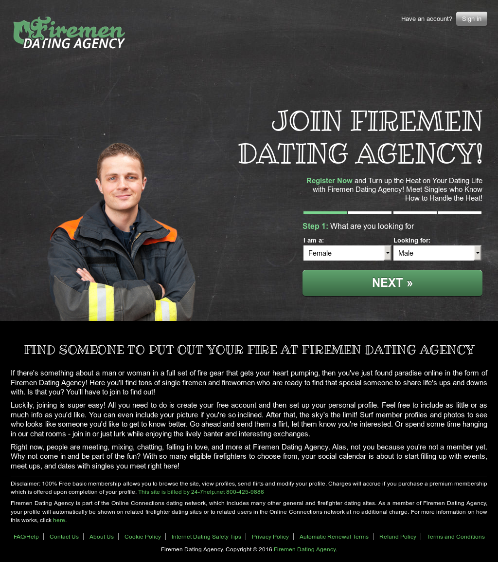 dating firemen website