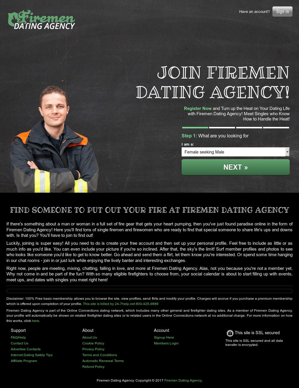dating agency.com login