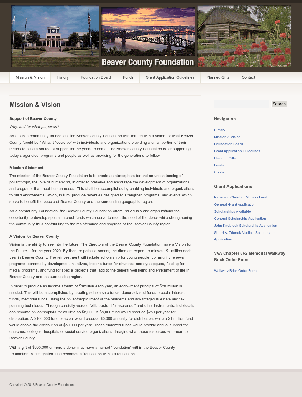 Beaver County Foundation Competitors, Revenue and Employees