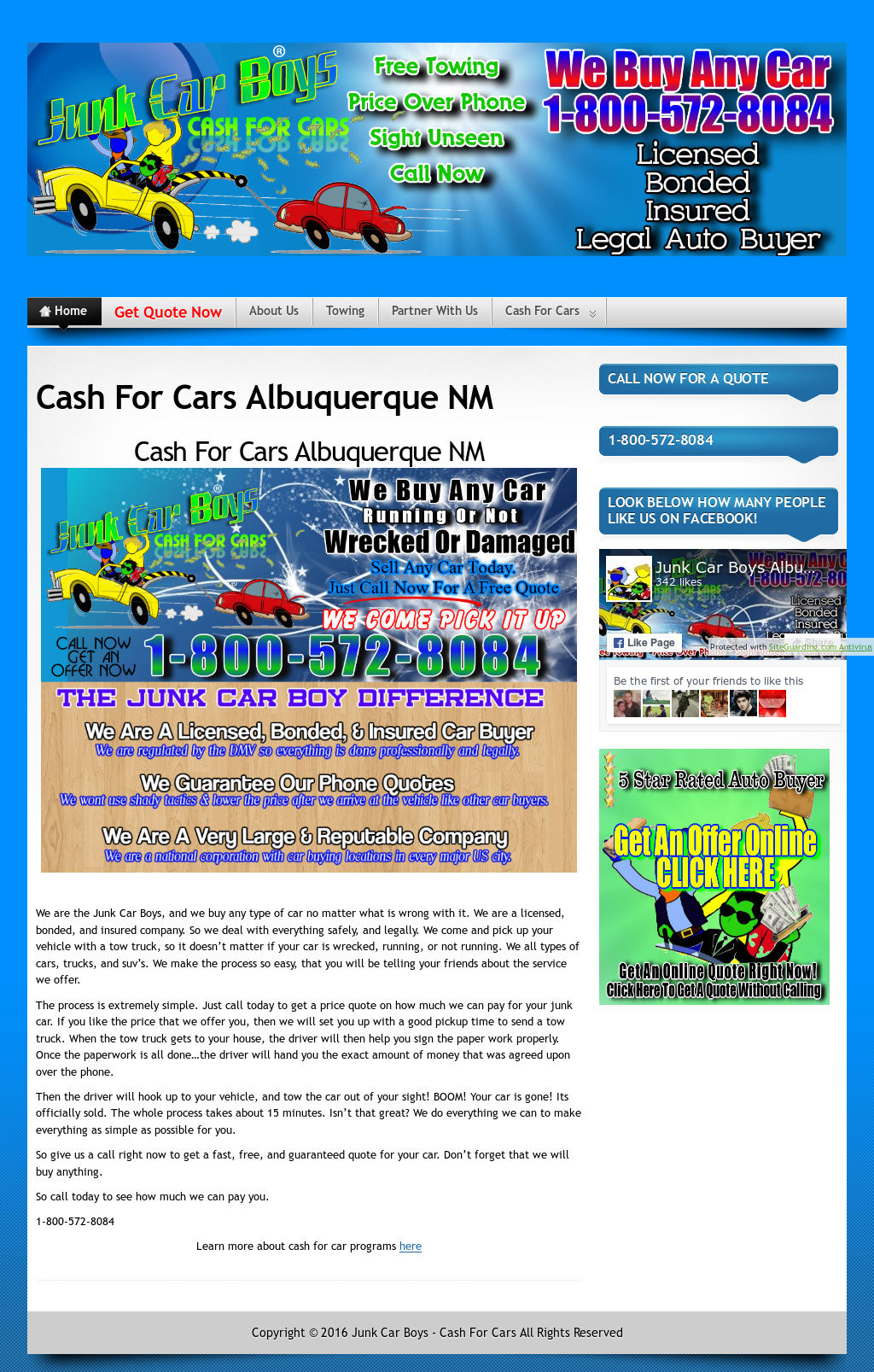 Junk Car Boys Albuquerque Nm - Cash For Cars Competitors, Revenue ...