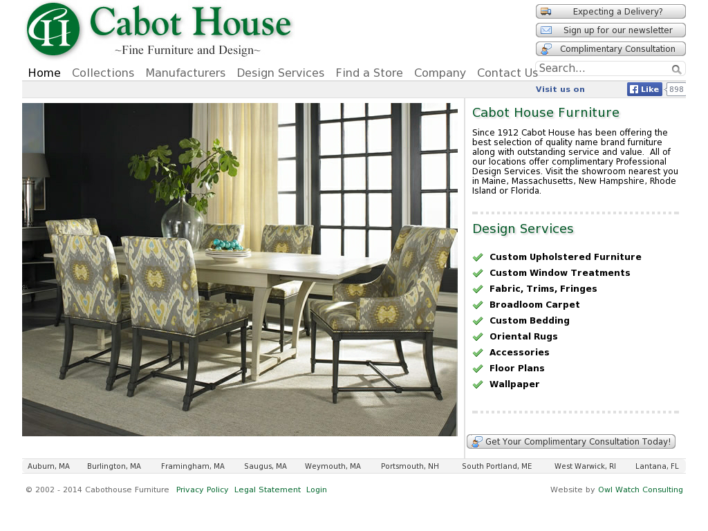 Cabothouse Furniture Competitors Revenue And Employees Owler Company Profile