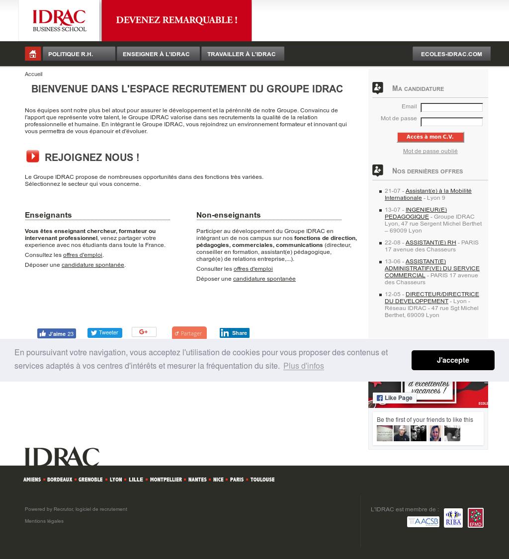 Recrutement Idrac Competitors, Revenue and Employees - Owler