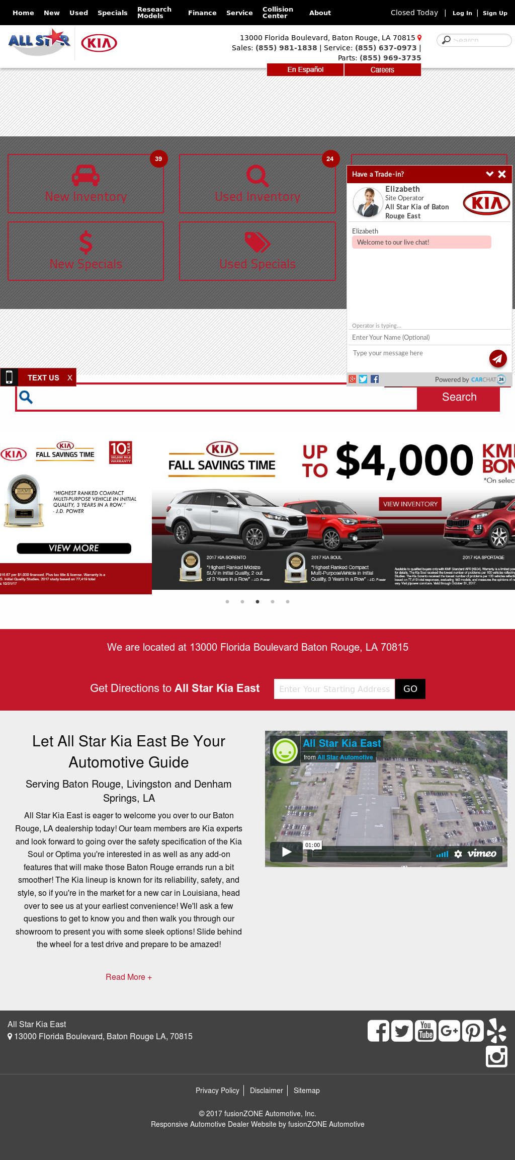 auctions rouge baton sale online lot soul salvage title of en cert in la kia silver copart left carfinder auto view on