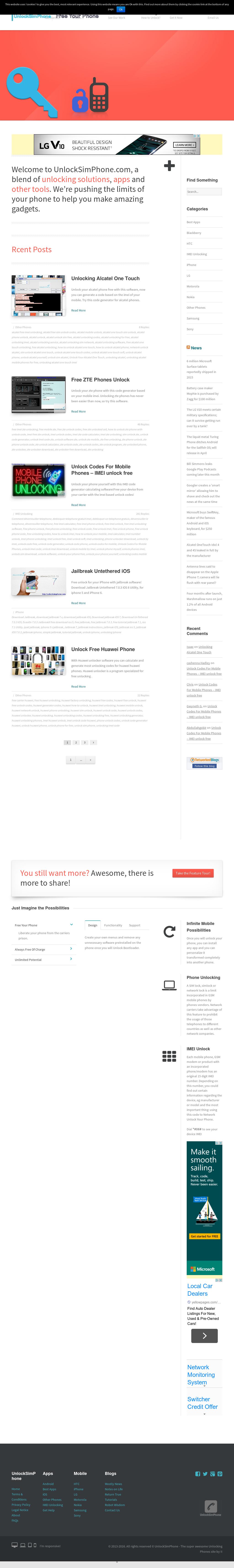 Unlocksimphone Competitors, Revenue and Employees - Owler Company