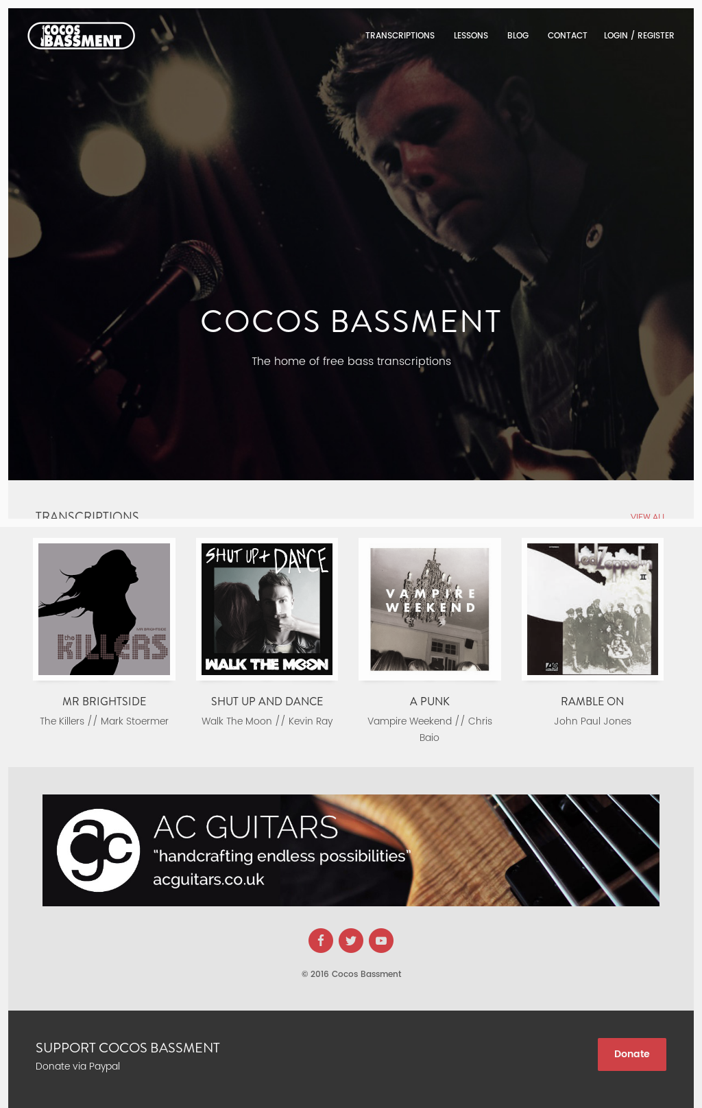 Owler Reports - Cocos Bassment Blog Here's my Donna Lee