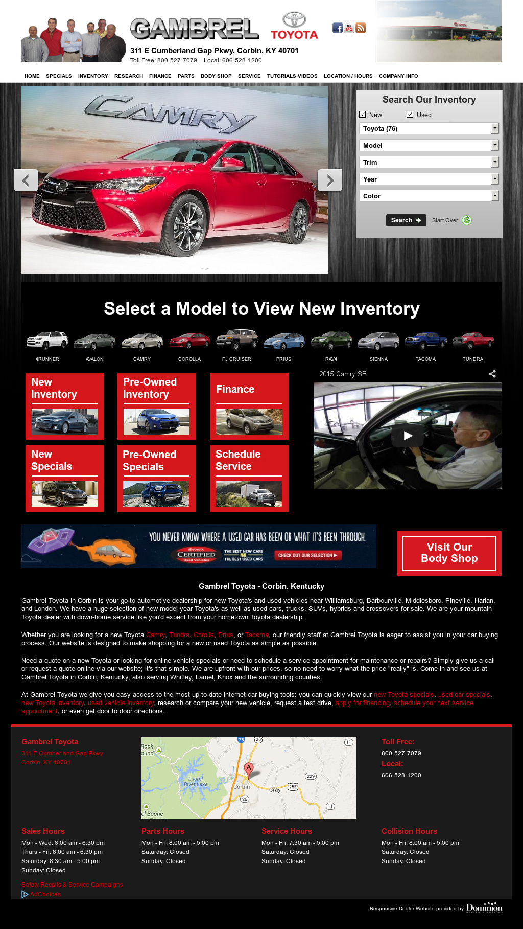 Gambrel Toyota Compeors Revenue And Employees Owler Company Profile