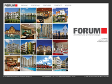 Forum Architecture Interior Design Website History