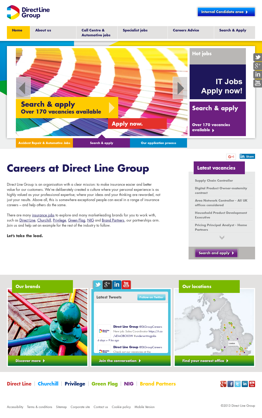 Direct Line Group Competitors, Revenue and Employees - Owler