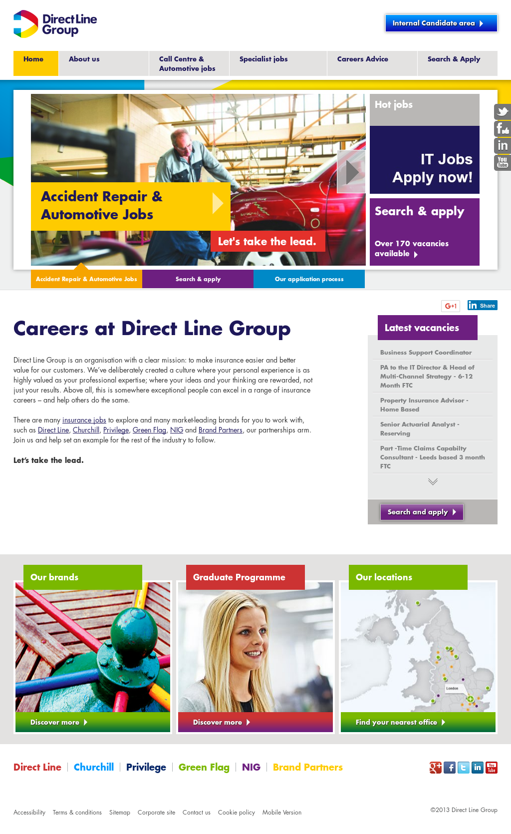 Direct Line Group Competitors, Revenue and Employees - Owler Company