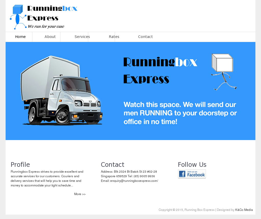 Running Box Express Competitors, Revenue and Employees