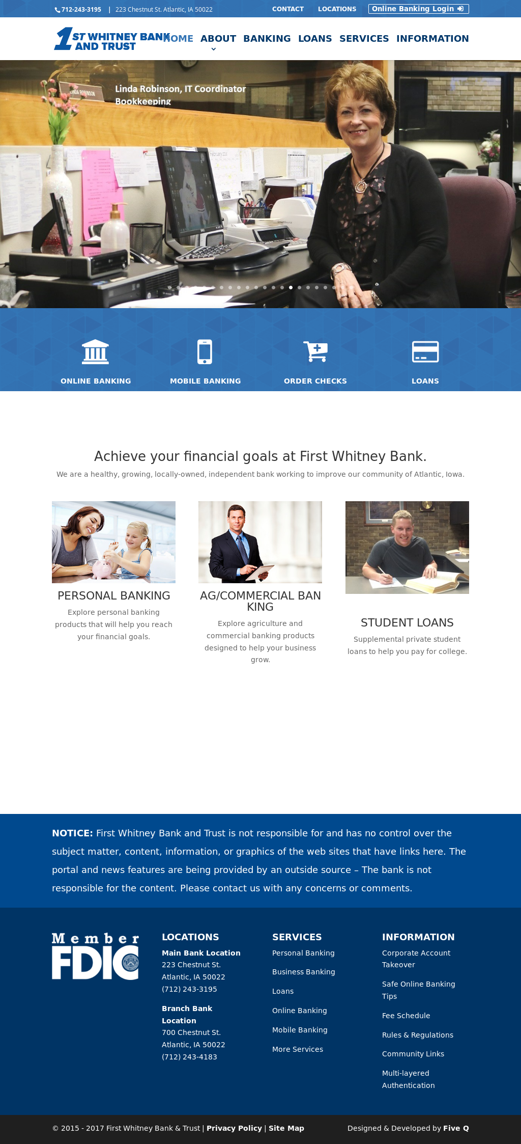 First Whitney Bank And Trust Compeors Revenue Employees Owler Company Profile