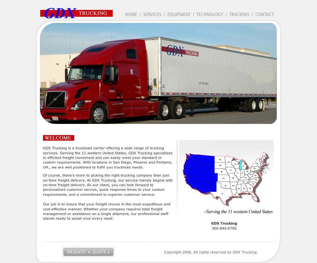 Custom Trucking Tracking Number