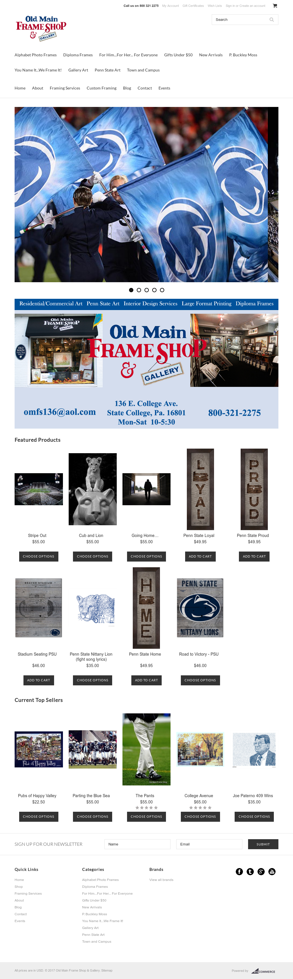 Old Main Frame Shop & Gallery Competitors, Revenue and Employees ...