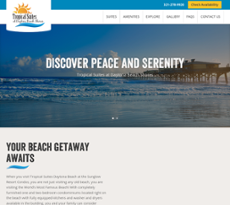 Tropical Suites Daytona Beach Website History