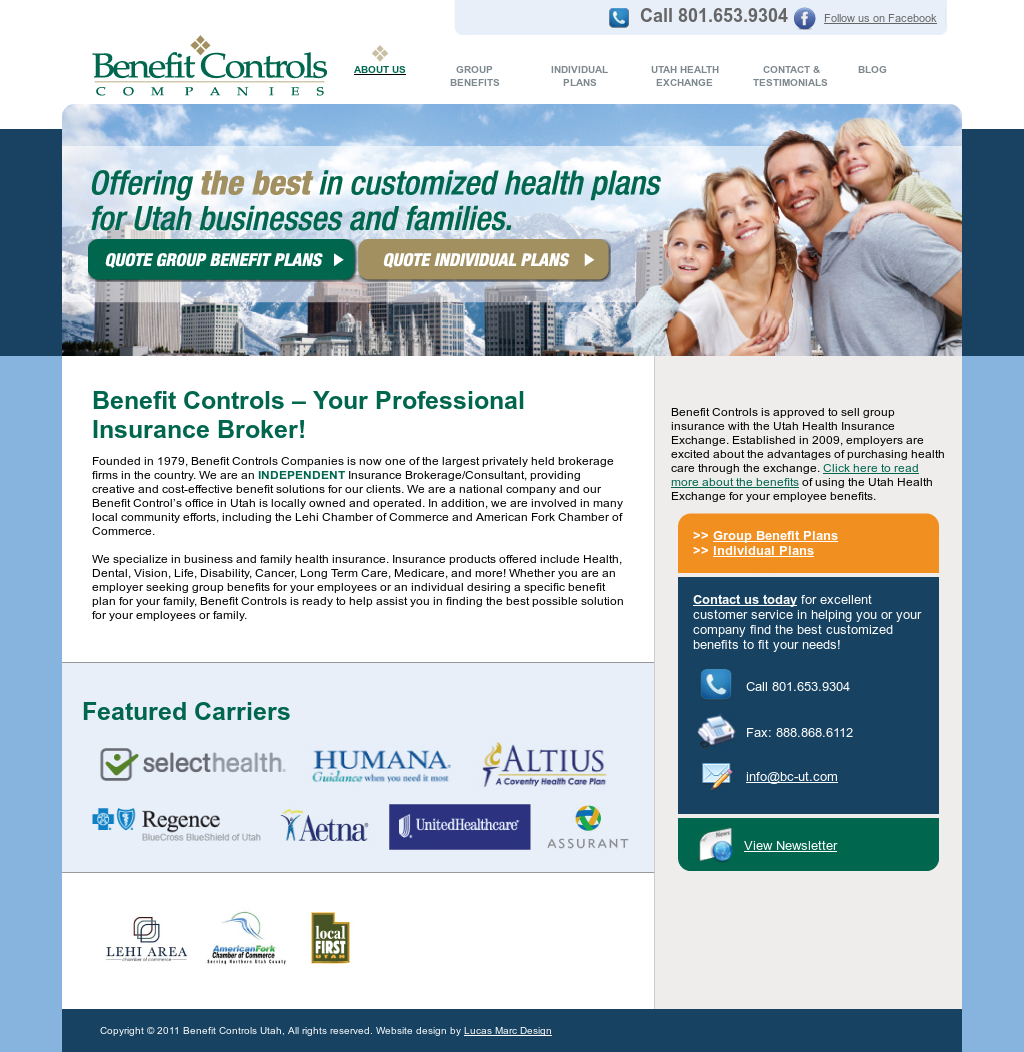Benefit Controls - Health Insurance Competitors, Revenue and
