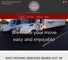 Easy Moving Freight Website History