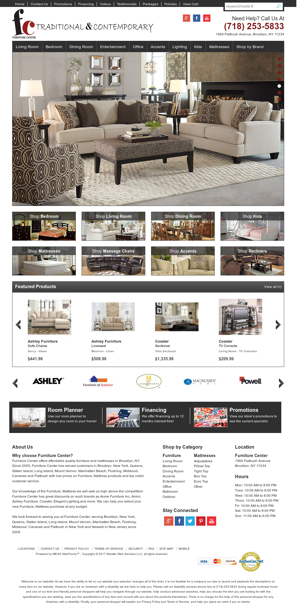 Furniture Center Nyc Website History