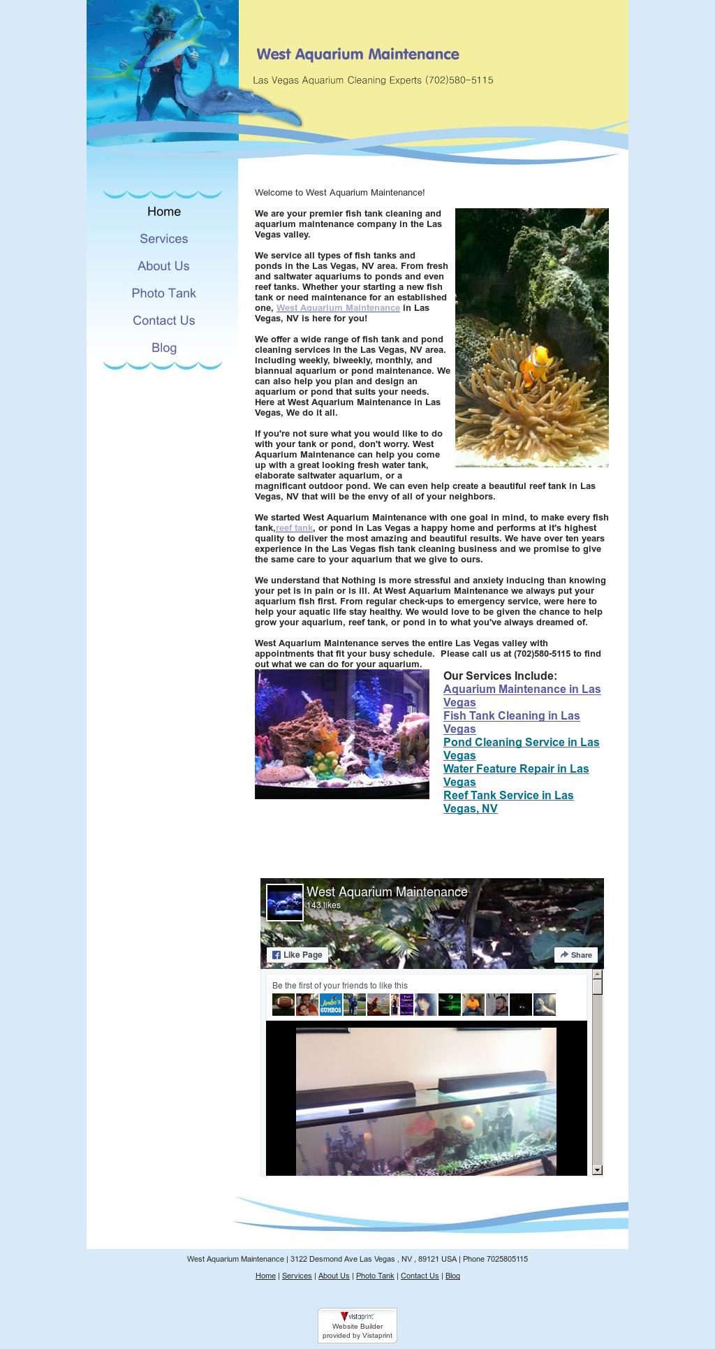 West Aquarium Maintenance Compeors